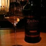 今宵のウイスキー「ARDBEG」。