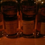 Bar THE MASH TAN ウイスキーイベント 「クローズドディスティラリーシリーズ特別試飲」のご報告